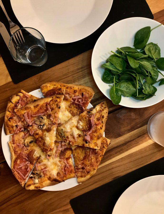 Nem og hurtig pizzabund