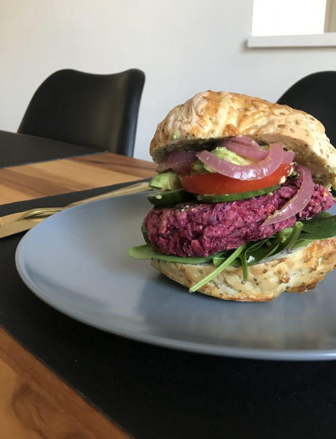 Rødbedebøffer – vegetarisk bøf