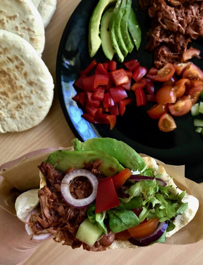 Tacos med Pulled Jackfruit