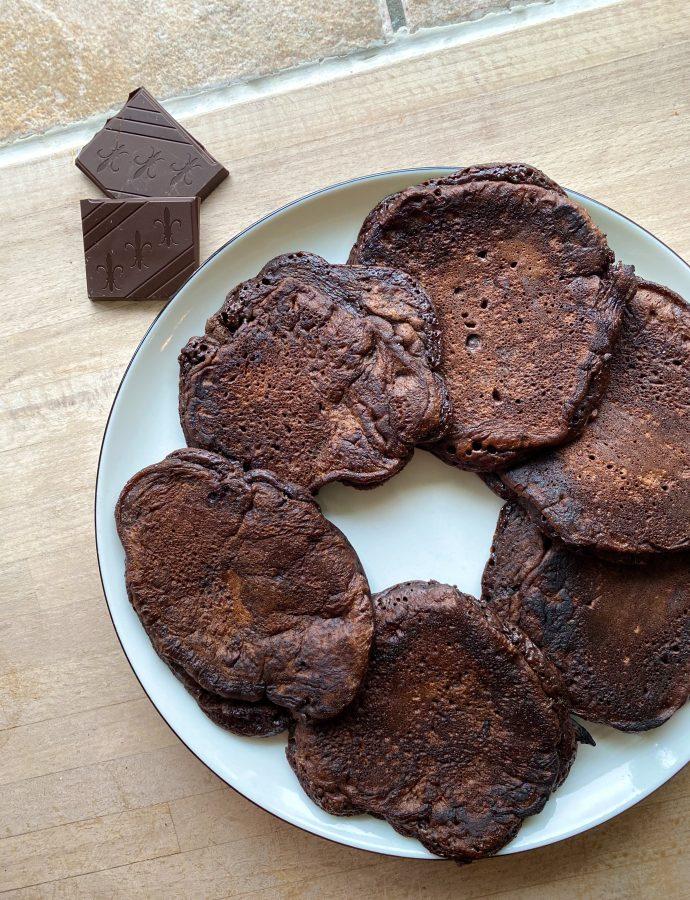 Amerikanske chokoladepandekager