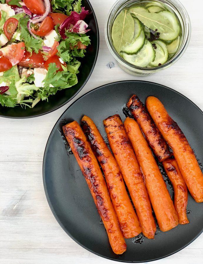 Marinerede gulerødder