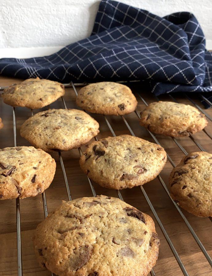 De bedste cookies med to slags chokolade
