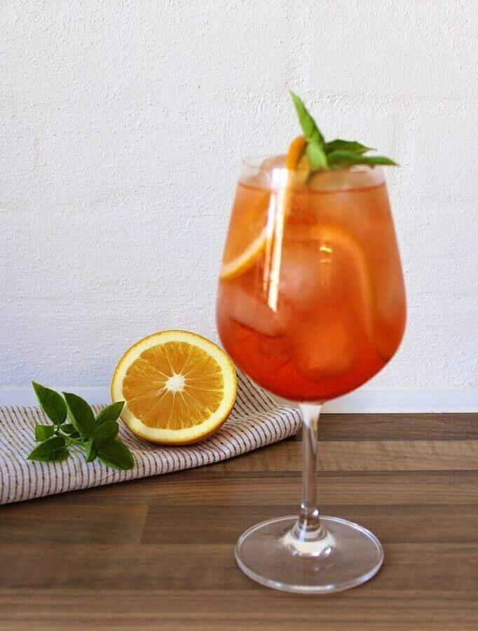 Aperol Spritz med gingerbeer