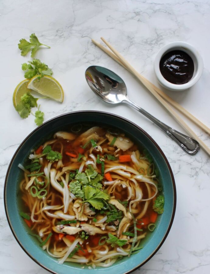 Pho Ga – Vietnamesisk Pho med kylling